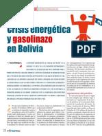 Crisis Energetica y Gasolinazo en Bolivia Hidrocarburos