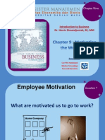 191013_ Chapter 9 - Motivating the Workforce