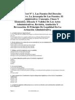 Tests Para Imprimir Admvo Del Estado