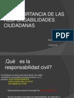 Las Importancia de Las Responsabilidades Ciudadanas