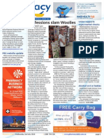 Pharmacy Daily for Wed 02 Jul 2014 - Professions slam Woolies, Competition policy papers, EBOS seals major deal in NZ, Health and Beauty and much more