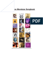 The Dave Mendoza Songbook