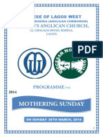 Mothering Sunday Hymns