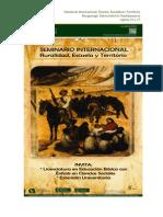 Mesas Temaìticas Ruralidad, Escuela y Territorio (1)