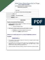 Tema de Trabajo - Psicologia Ambiental