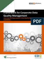 EFQM Framework for Corporate Data Quality Management