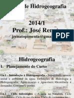 Curso de Hidrogeografia