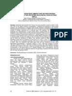 Penurunan Kadar Bod Limbah Cair Secara Proses Biologi Dengan Tipe Rotating Biological Contactors 2