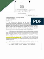 Conversion From Barangay to Municipality