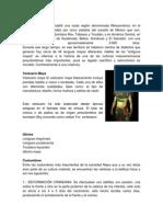 Cuatro Culturas de Guatemala Su Vestuario, Idioma, Costumbres, Comida, Instrumentos.