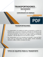 Transportadores Exposicion Pwr Point