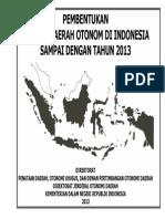 Total Daerah Otonom 2013