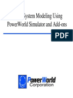 Simulation with Power World