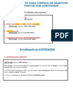Limpeza de PDF ID CPF Matrícula Nome - Alexandre - Unlocker, eXPert, Foxit