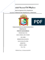 Practica Nº 1 - Equilibrio de Fuerzas 2014