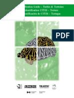 CITES 1999 Guía de Identificación de Tortugas