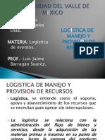 Luis Alberto Ángeles Días Logistica de Manejo