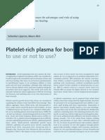 Platelet Plasma