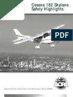Cessna 182 Skylane Safety Highlights