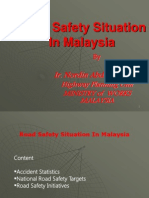 road safety situation in Malaysia
