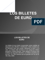 Billetes de Euro Ppt