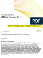10 LTE Radio Parameters Pc RL10 002