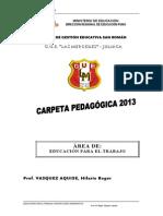 Carpeta Ped Trabajo2013