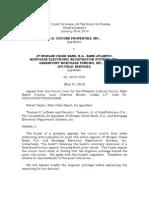 Rh Ciccone Properties Inc. v. Jp Morgan Chase Bank 5-21-14
