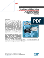 3 phase SolidState Relay