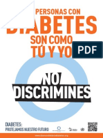 WDD13 Poster Discrimination ES