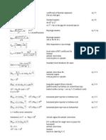 HEAT TRANSFER Equations Module 5