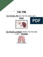 Canal Tai Yin...Del Pie (b) y de La Mano (p)