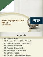 06 Java Language and OOP Part VI