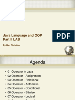 02 Java Language and OOP Part II LAB