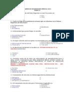 Examen Residentado 2011 Con Respuestas