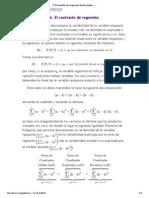 Tabla ANOVA Del Modelo de Regresión Lineal Simple. El Contraste de Regresión.