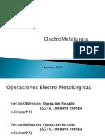 Electrometetalurgia apoyo resumen