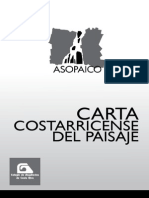 Carta Costarricense Del Paisaje