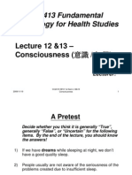 Microsoft Power Point - 0910 CC2413 L1213 Consciousness Standard StudentV