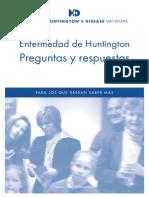 Enfermedad de Huntington Preguntas y Respuestas
