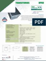 Supresor Transitorio HP80