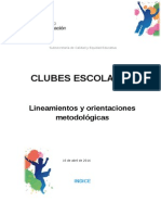 Lineamientos Clubes Final 16 de Abril