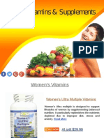 Top 10 Vitamins & Supplements