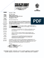 Barnstable County Sheriff's Office (Massachusetts) - 287(g) FOIA Documents