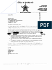 Butler County Sheriff's Office (Ohio) - 287(g) FOIA Documents
