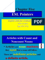 Wk 13 Lecture ESL Pointers