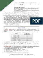 Estatística - Matemática Financeira - 09