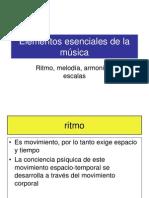 Elementos Esenciales de La Música