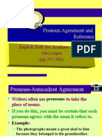 Wk 12 Pronoun Agreement and Reference