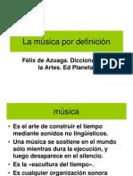 La Música Por Definición